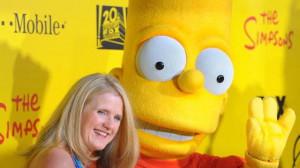 Nancy Cartwright - Televizní seriál Simpsonovi na oslavě dvacátého výročí seriálu