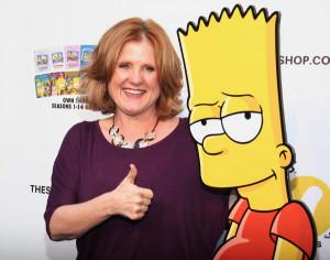 Nancy Cartwright a její hlasové role Barta Simpsona v kresleném seriálu Simpsonovi. Nancy Cartwright se hlásí k scientologické církvi